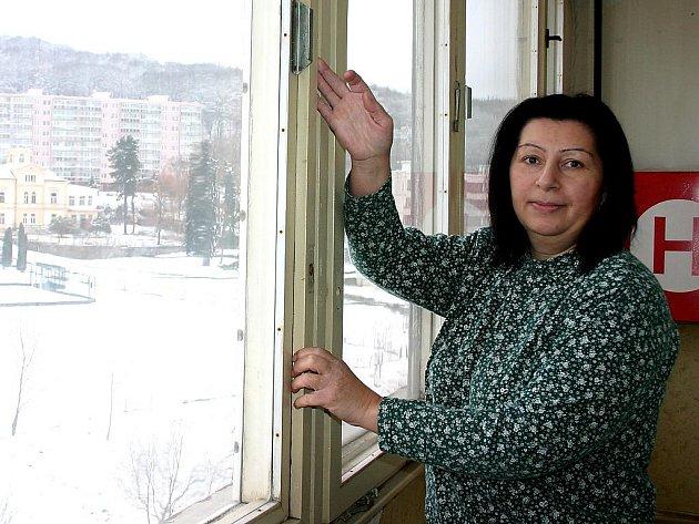 Stav některých panelových domů v Litvínově je katastrofální.