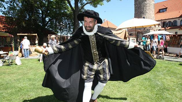 V neděli 20. červa bude na hradě Hněvín v Mostě Den magistra Edwarda Kelleyho.