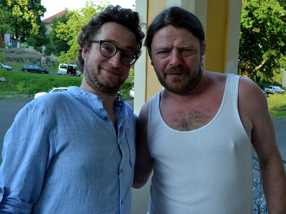 Hlavní protagonisté - Jiří Panzner (vlevo) a Leoš Noha.
