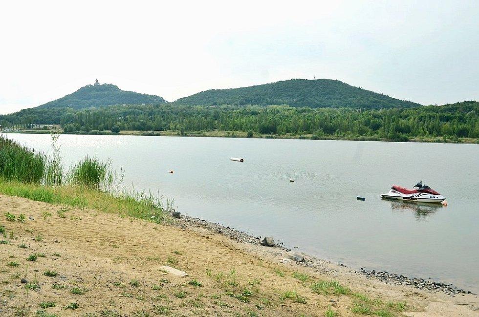Areál jezera Matylda. Ilustrační foto