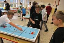 Pohár města Meziboří - billiard-hockeye šprtec.