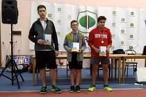 Badmintonové turnaje v Praze a v Radonicích.
