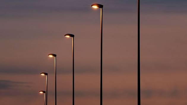 Veřejné osvětlení. Ilustrační foto.