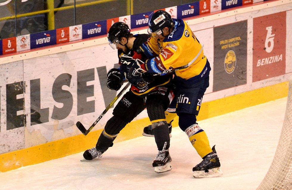 Litvínov ve vítězném duelu se Zlínem.