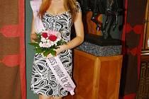 Veronika Kašáková ještě jako finalistka v soutěži Miss Junior. Nyní se pokusí zvítězit v Miss Internet.