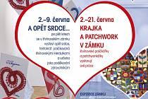 Zámek Valdštejnů bude hostit výstavu srdcí pro zdravotníky.