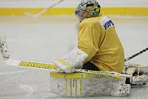 Litvínovští hokejisté vyjeli poprvé na led.