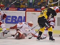 Litvínov prohrál v Třinci.