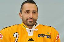Obránce hokejového Litvínova Jiří Zeman.