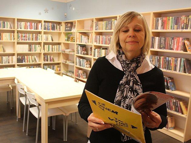 Nová čítárna v Malém Březně.
