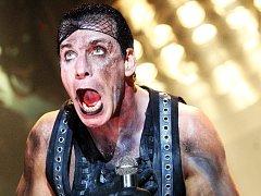 Rammstein. Na snímku Till Lindemann.