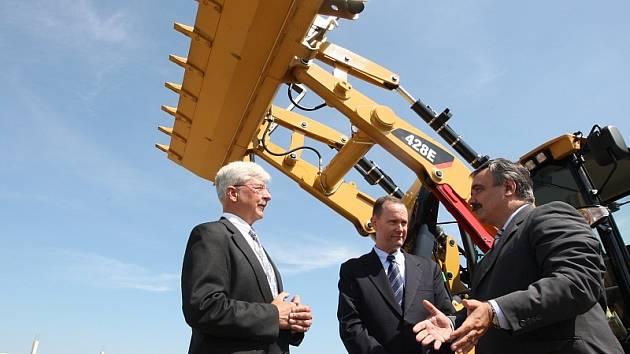 Slavnostní zahájení stavby továrny amerického investora v zóně Joseph.