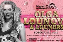 V Nový Obzor Music Areně v Mostě bude koncertovat Olga Lounová.