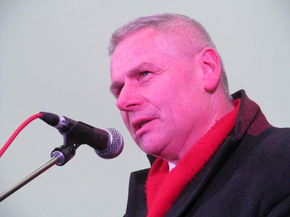 Místostarosta Litvínova Milan Šťovíček.