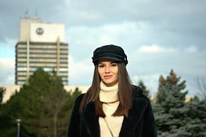 Modelka Tereza Bohuslavová
