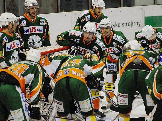 Mostecké hokejisty čeká ve finále druhé ligy soupeř z Litoměřic.
