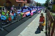 Obří klouzačka v Litvínově