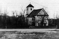 Albrechtice, kostel.
