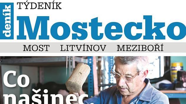 Vychází nový Týdeník Mostecko.