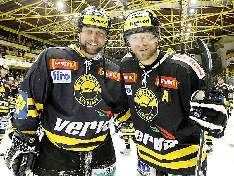 Jiří Šlégr (vlevo) a Vojtěch Kubinčák.