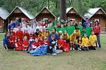 Letní tábor v Hedčanech, 2010.