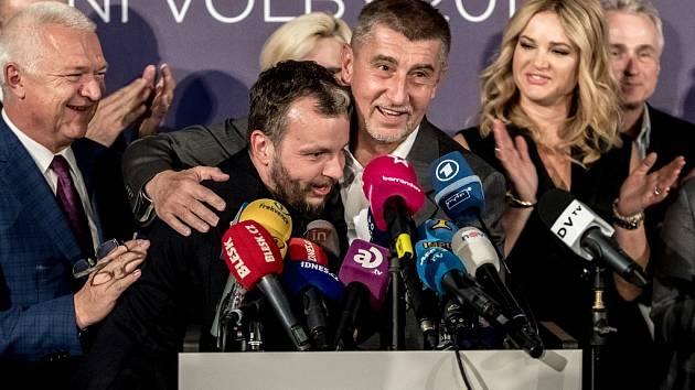 ANO v čele s Andrejem Babišem slaví. I na Mostecku porazilo konkurenci.