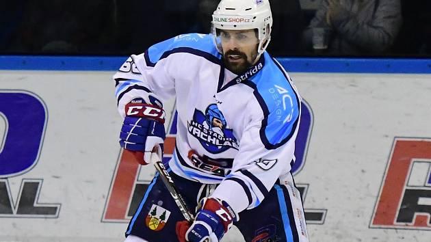 Tomáš Rolinek v zápase s Mosteckými lvy.