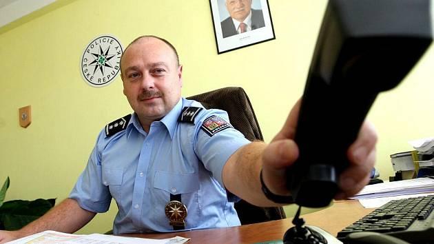 Šéf mostecké policie Jiří Volprecht.
