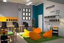 Ještě dnes mohou zaměstnanci Amazonu hlasovat soutěž o komplet vybavení STEM Kindlotéka koutku.
