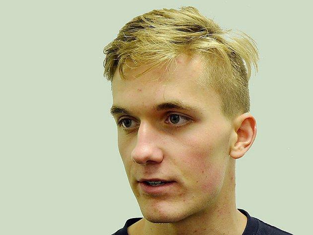 Litvínovský hokejista Kristian Reichel.