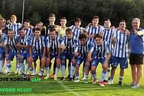 FK Baník Most - Souš U19, vítěz Korona Cupu.