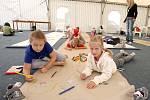 Příměstský výtvarný tábor na mosteckém hipodromu,  2011.