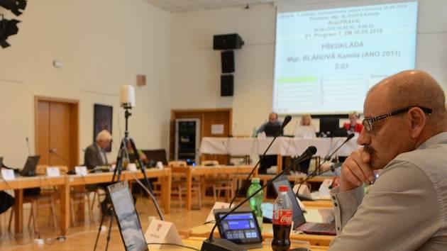 Zasedání zastupitelstva Litvínova.