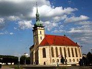Přesunutý mostecký kostel.