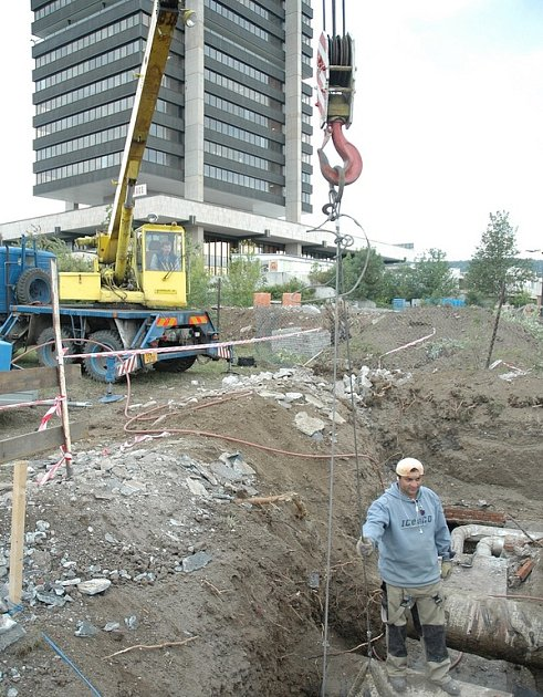 Během odstávky bude na několika místech vyměněno vodovodní potrubí.