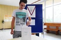Studentské volby na VOŠ a SOŠ, OA, SPgŠ a SZŠ Most.