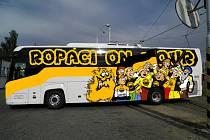 Ropáci on tour - oficiální fanclub litvínovského hokeje aktuálně informuje o zájezdech.