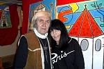Rodák z krušnohorské obce Fláje Walter Gaudnek je předním představitelem pop-artu.