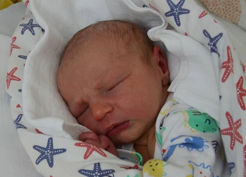 Vojtěch Baloun se narodil 23. srpna v 15.09 hodin rodičům Alici a Tomášovi Balounovým. Měřil 51 cm a vážil 3,60 kg.