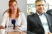 Kamila Bláhová a Daniel Volák.