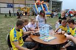 Letošní Vervování, při kterém litvínovský klub představil nové dresy a uspořádal zábavu pro fanoušky.