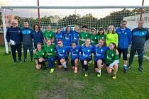 V Mostě při FK Baník Most - Souš vzniká fotbalový tým žákyň.