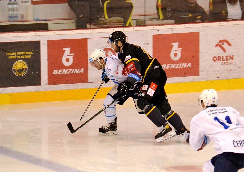 Litvínov v předposledním zápase roku hostil doma Plzeň. Prohrál 0:3.