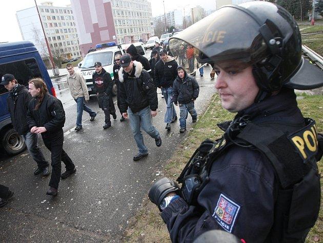 Dělnická strana znovu v Janově. Zásahu policistů nebylo zapotřebí.