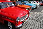 Sraz historických vozidel v Litvínově v roce 2017