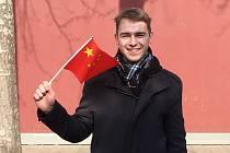 Litvínovan Jakub Skořepa se v lednu vydal pracovně do Číny