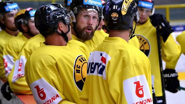 Tvář hokejového Litvínova - kapitán a klubista Michal Trávníček.