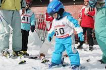 Pro lyžaře jsou na Mostecku stále dobré podmínky.