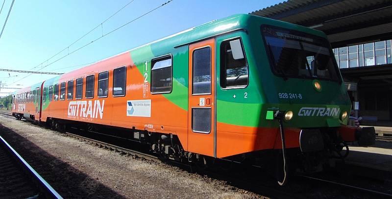 Rychlíkové spoje na trati Most - Plzeň zajišťuje společnost GW Train Regio