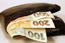 Nález peněženky s penězi, doklady či bankovní kartou, se musí úřadům hlásit.